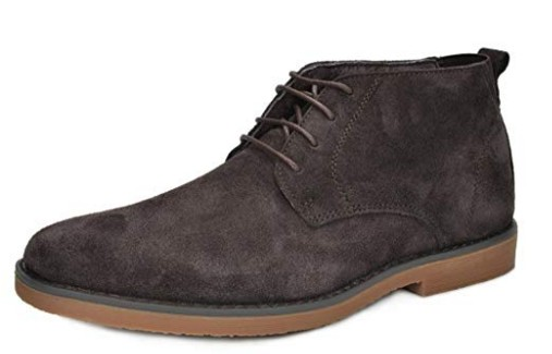 BRUNO MARC NEW YORK Men's Classic Original Suede Leather Desert Storm Chukka Boots