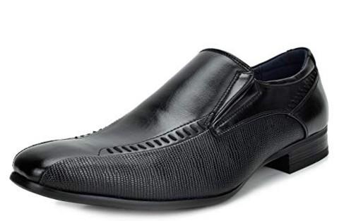 BRUNO MARC NEW YORK Men's Gordon Leather Lined Dress Loafers Slip-On Shoes