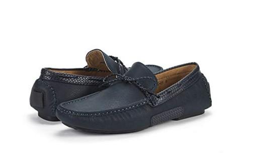 BRUNO MARC NEW YORK Men's Santoni-03 Penny Loafers Moccasins Shoes
