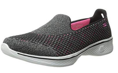 Skechers Performance Women's Go Walk 4 Kindle Slip-On Walking Shoe