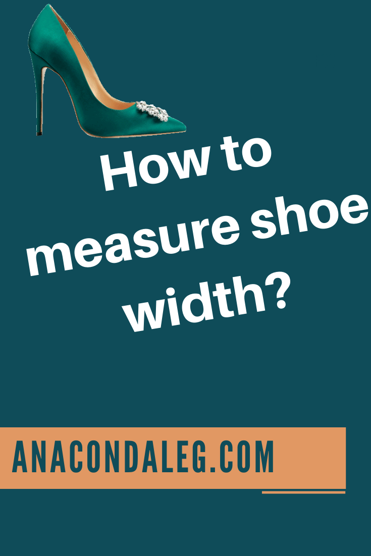 How to Measure Shoe Width Instantly? Best Trick!